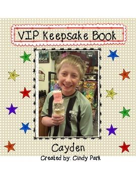 VIP Keepsake Book