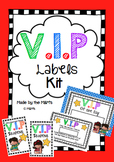 VIP Labels Pack