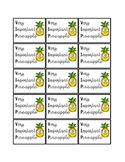 VIP Pineapple Brag Tags
