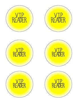 V.I.P. Reader Incentive Kit *Button Maker Required*