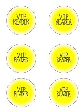 V.I.P. Reader Incentive Kit *Button Maker Required*