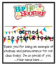 VIP Recognition Cards- Editable