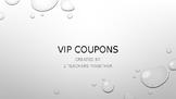 VIP Reward Coupons
