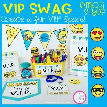 VIP SWAG Emoji Style