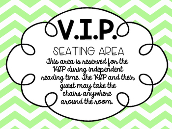 VIP Seating Area