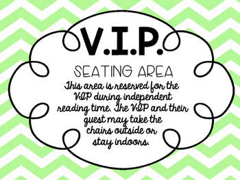 VIP Seating Area