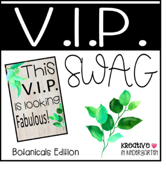 VIP Swag Botanicals Edition