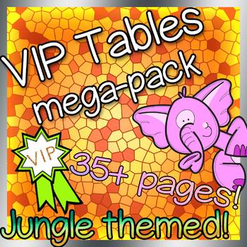 VIP Table Bundle (Jungle themed)