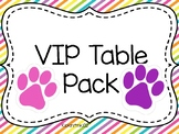 VIP Table Pack
