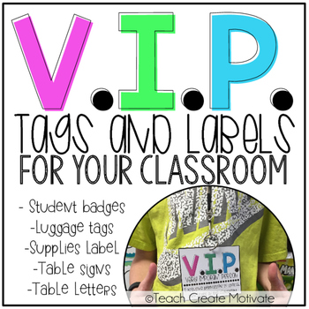 VIP Tags & Labels