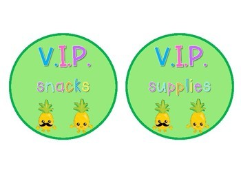 VIP Very Important Pineapple Pack