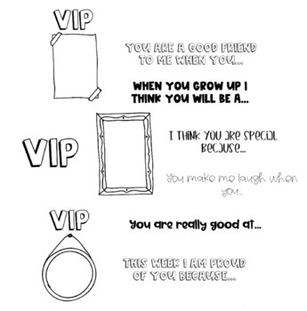 VIP booklet