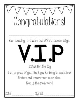 VIP student