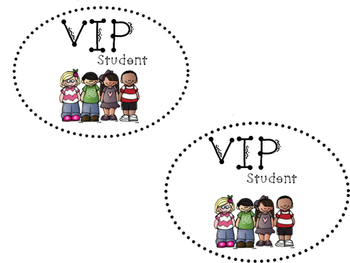 VIP tub labels
