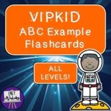 VIPKID ABC Example Flashcards Pack