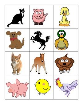 VIPKID Animal Memory Game for MC-L2-U10