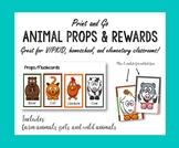 VIPKID Animal Props, Flash Cards, or Rewards VIP KID
