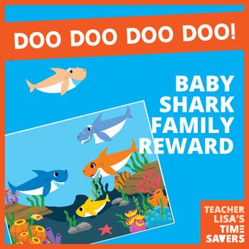VIPKID Baby Shark Family Reward Set