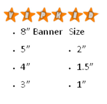 VIPKID Banner on Stars - Classroom Decorations