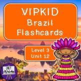 VIPKID Brazil Flashcards (Level 3, Unit 12)
