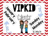 VIPKID Calendar
