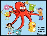 VIPKID Characters- Octopus Reward