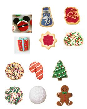 Online ESL Teaching Christmas Cookies Santa Holiday Activity Reward Prop VIPKID