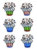 VIPKID Christmas and Snowman Cupcakes Reward - FREE