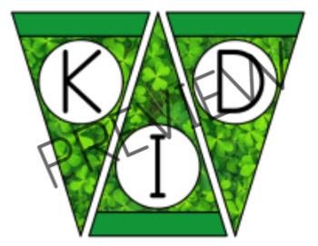 VIPKID Classroom Banner - St. Patrick's Day