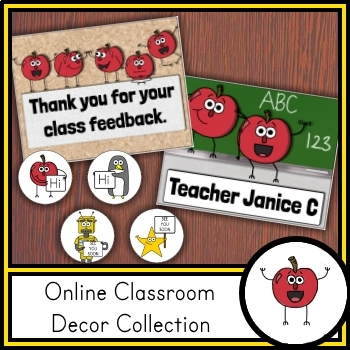 Online Classroom Decor Collection (VIPKID / gogokid)