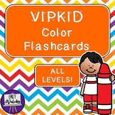 VIPKID Color Flashcards Pack