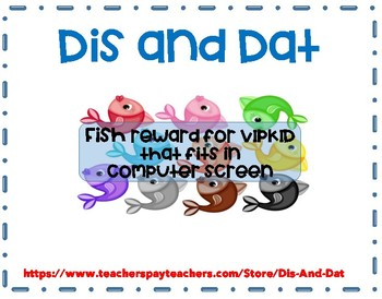 VIPKID Colorful Fish Reward