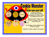 VIPKID GogoKid Palfish Cookie Monster Food Props Bulletin Board Decoration