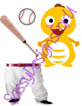 VIPKID DINO Baseball/World Series Printable Reward