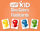 VIPKID Dino Colors Flashcards