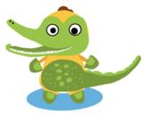 VIPKID Dino Dress Up  - Jungle Zoo Animal - Alligator
