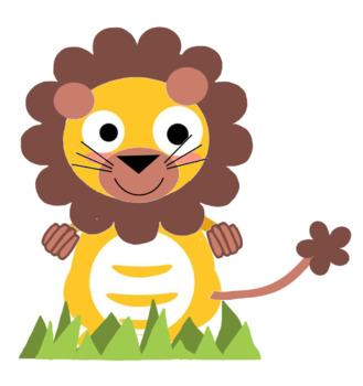 VIPKID Dino Dress UP Lion - Jungle Zoo Animal Reward System