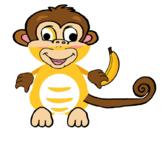 VIPKID Dino Dress Up - Jungle Zoo Animal - Monkey