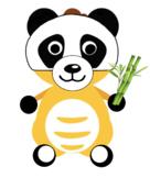 VIPKID Dino Dress Up - Jungle Zoo Animal - Panda