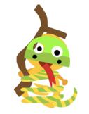 VIPKID Dino Dress Up - Jungle Zoo Animal - Snake