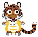 VIPKID Dino Dress Up - Jungle Zoo Animal - Tiger
