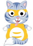 VIPKID Dino Dress Up - Farm Animal - Cat