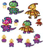 VIPKID Dino Dress Up - Dinosaurs - Triceratops, Pterodactyl, Brontosaurus