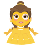 VIPKID Dino Dress Up - Disney Princess - Belle