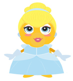 VIPKID Dino Dress Up - Disney Princess - Cinderella