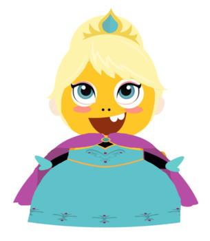 VIPKID Dino Dress Up - Disney Princess - Elsa