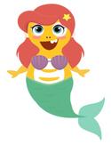 VIPKID Dino Dress Up - Disney Princess - Little Mermaid