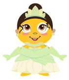 VIPKID Dino Dress Up - Disney Princess - Tiana