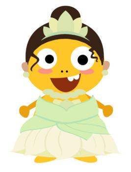 VIPKID Dino Dress Up - Disney Princess - Tiana