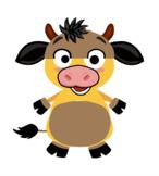 VIPKID Dino Dress Up - Farm Animal - OX